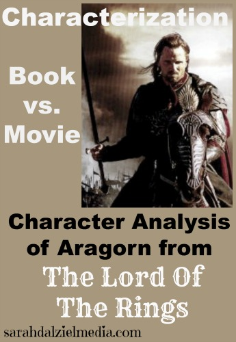 character analysis of Aragorn, based on first appearance in book vs. movie