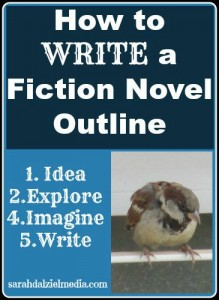 How to Write a Fiction Novel Outline