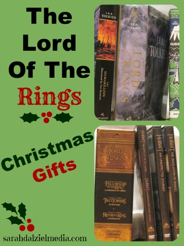 the lord of the rings christmas gifts