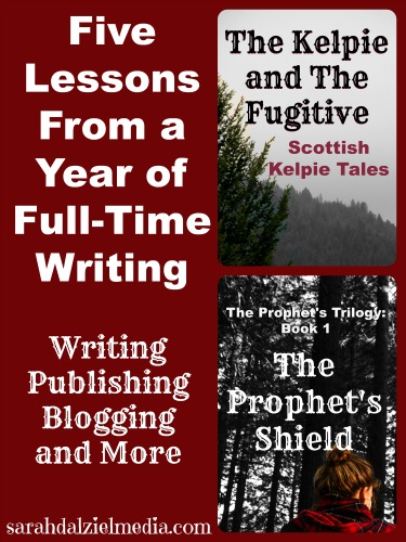five lessons from a year of full-time writing