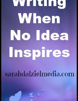 Writing When No Idea Sparks