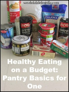 Healthy Eating on a Budget: Pantry Basics for One