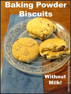 Baking Powder Biscuits: Healthy Eating on a Budget
