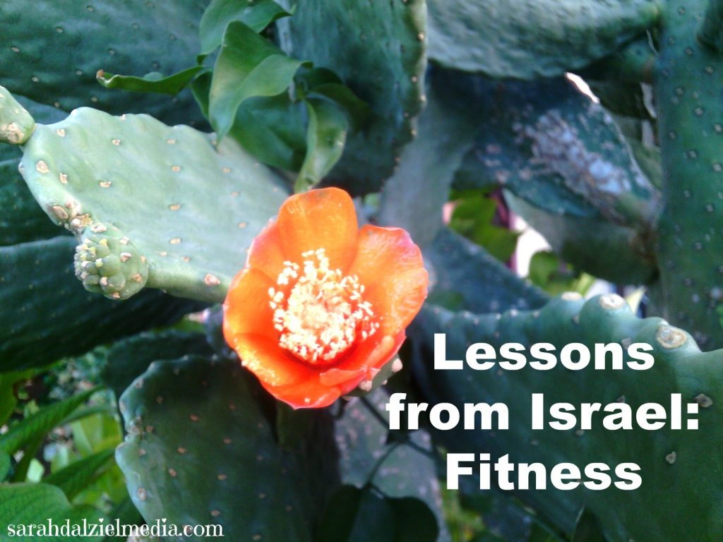 fitness mindset lessons learned in Israel